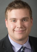 A portrait of Zachary Brennan of the University of Iowa College of Public Health.