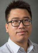 A portrait of Huang Huang of the University of Iowa College of Public Health.