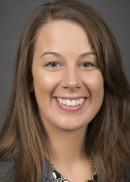 A portrait of Elizabeth Jasper of the University of Iowa College of Public Health.