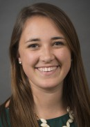 A portrait of Emily Kimpston of the University of Iowa College of Public Health.