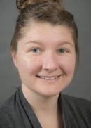 A portrait of Chastity McCue of the University of Iowa College of Public Health.