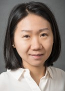 A portrait of Haobing Qian of the University of Iowa College of Public Health.