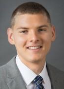 A portrait of Weston Riesselman of the University of Iowa College of Public Health.