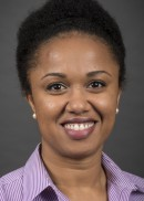 A portrait of Patience Ugwi of the University of Iowa College of Public Health.