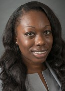 A portrait of Winnie Uluocha of the University of Iowa College of Public Health.