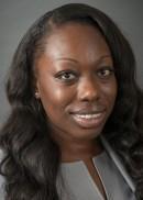 A portrait of Winnie Uluocha of the University of Iowa College of Public Health.