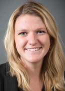 A portrait of Lauren Waggoner of the University of Iowa College of Public Health.