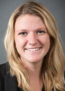 A portrait of Lauren Waggoner of the University of Iowa College of Public Health.