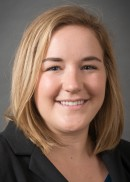 A portrait of Cassidy Watson of the University of Iowa College of Public Health.
