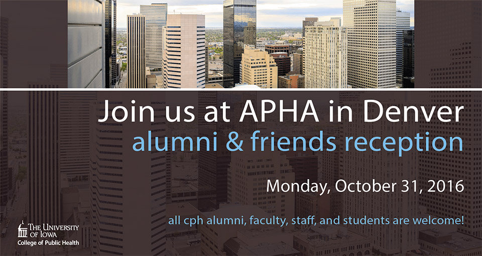 Join us in Denver for the 2016 APHA convention
