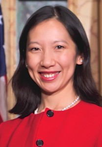 Official portrait of Dr. Leana Wen, winner of the 2016 Hansen Award and commissioner of health for the City of Baltimore, Md.
