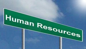 Human Resources road sign