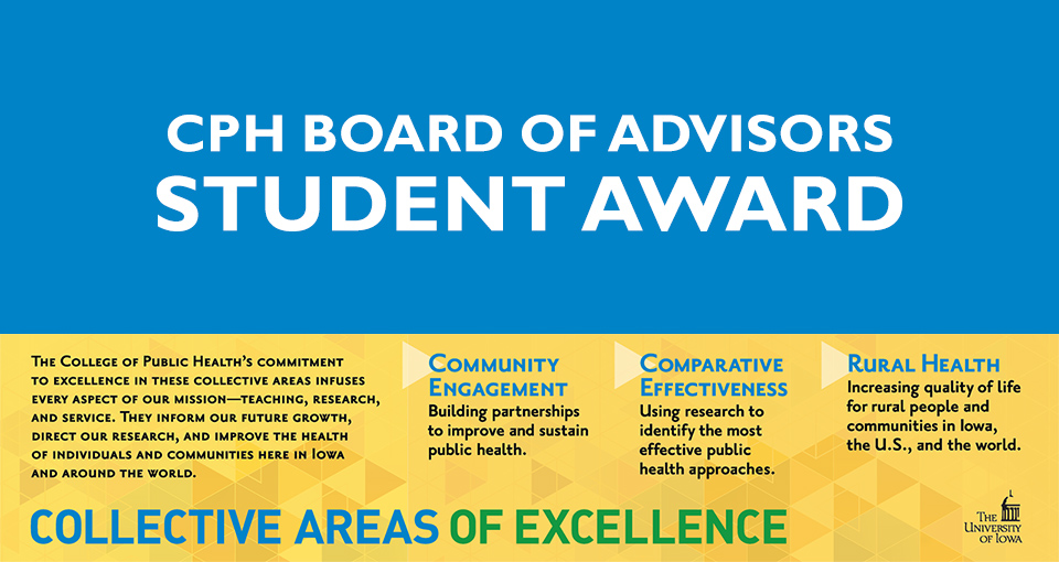 BOA Student Award applications due March 20