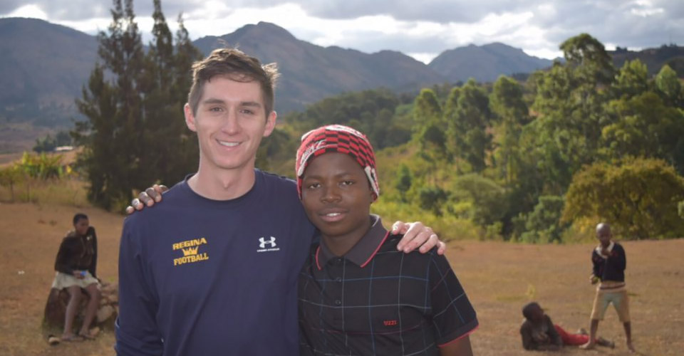 Alumnus Blake Smith is a Peace Corps volunteer in Swaziland