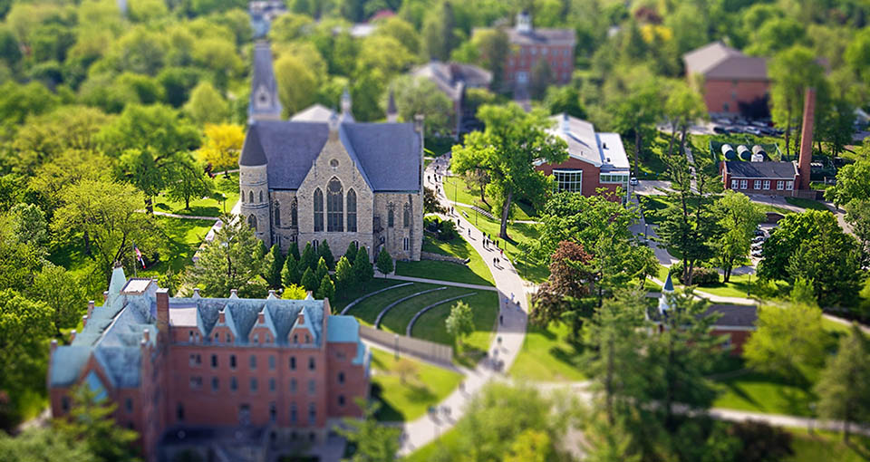 photo of Cornell College campus