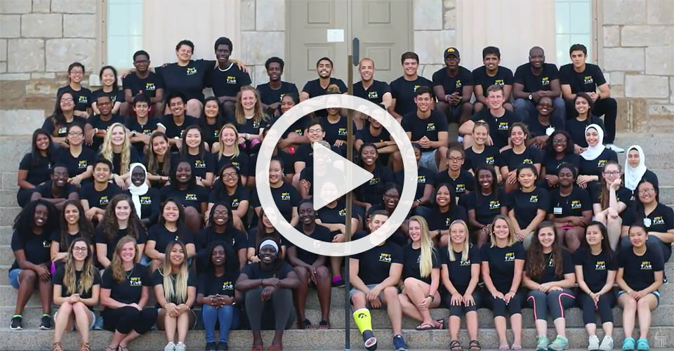group photo of Summer Health Professions Education Program students 2017