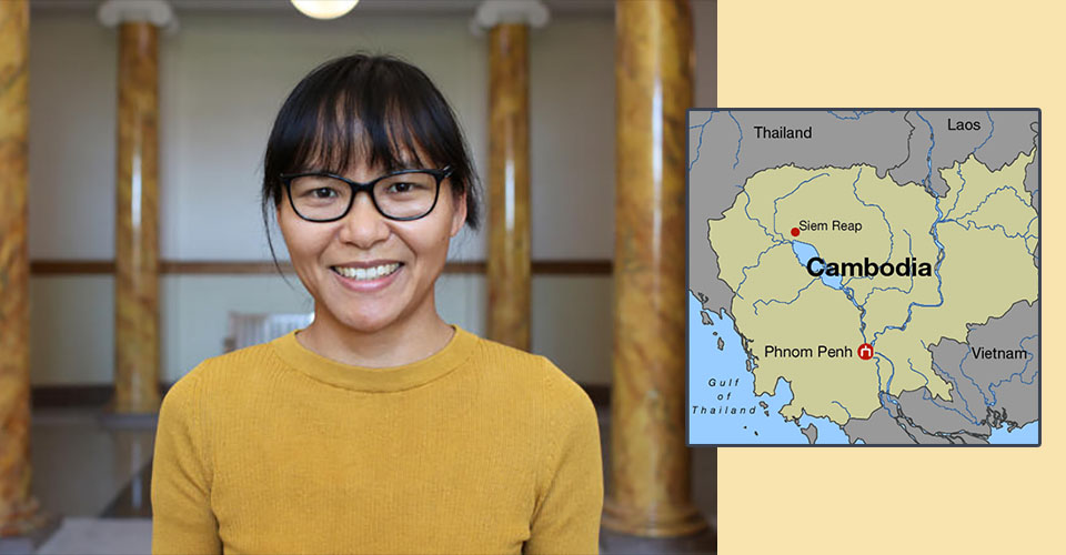 Yanni Liang, a PhD candidate in occupational and environmental health at the University of Iowa, earned a 2019 David L. Boren Fellowship, and will spend next year studying Khmer in Cambodia.