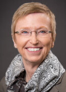 "A portrait of Elizabeth ""Betsy"" Chrischilles of the Department of Epidemiology at the University of Iowa College of Public Health."
