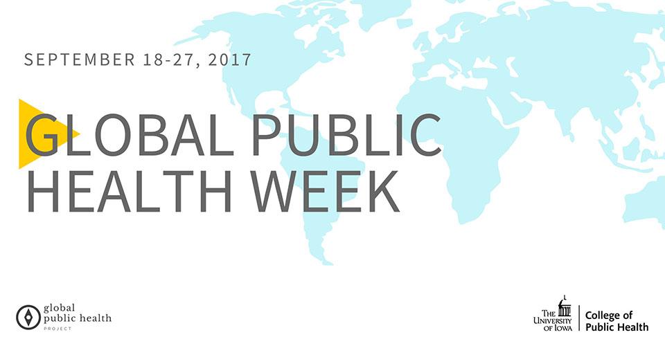 global public health week slider