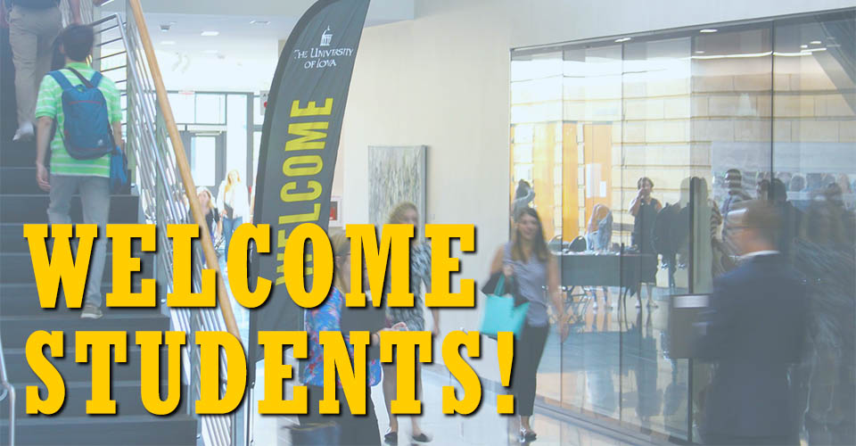 Welcome ,students! We're glad your'e here.