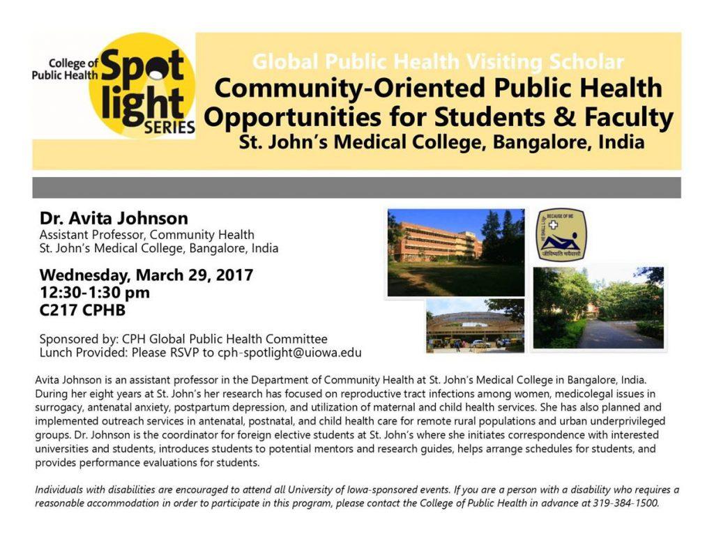 Community Oriented Public Health Spotlight