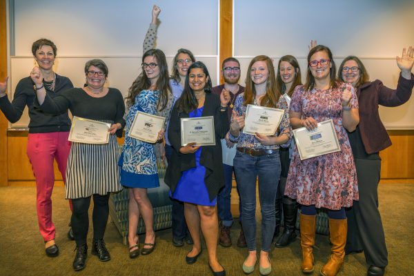CPH Research Week 2017 poster winners group photo