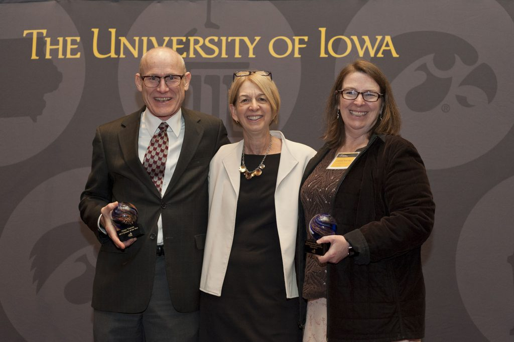 Peter Thorne, Sue Curry, and Corinne Peek-Asa