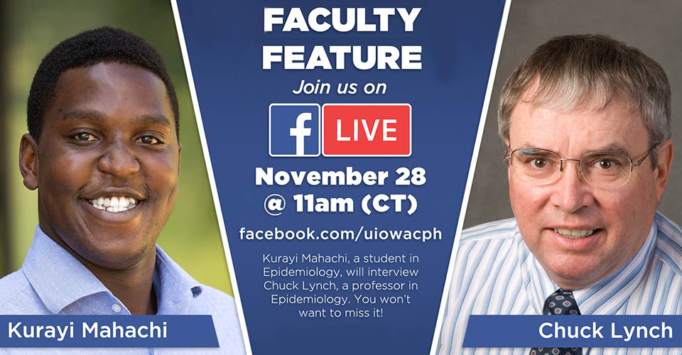 Facebook Live Faculty Feature with Chuck Lynch