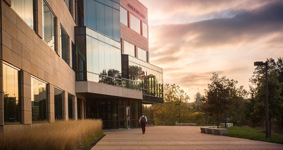 College of public Health Building Exterior
