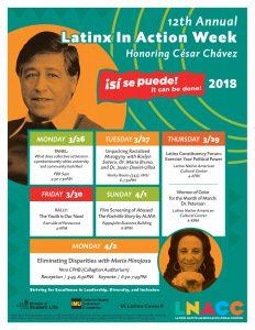 César Chávez Flier 2018