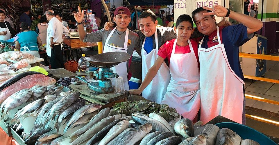 Xicotepec market fish