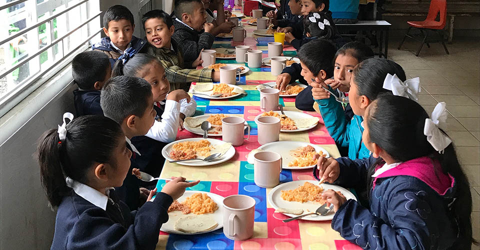 Xicotepec school lunch