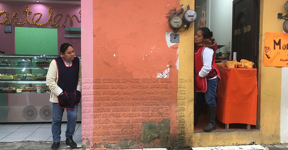 Xicotepec shop owners