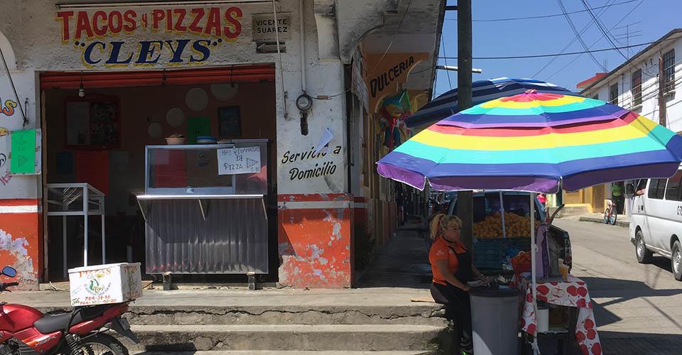 Xicotepec taco pizza