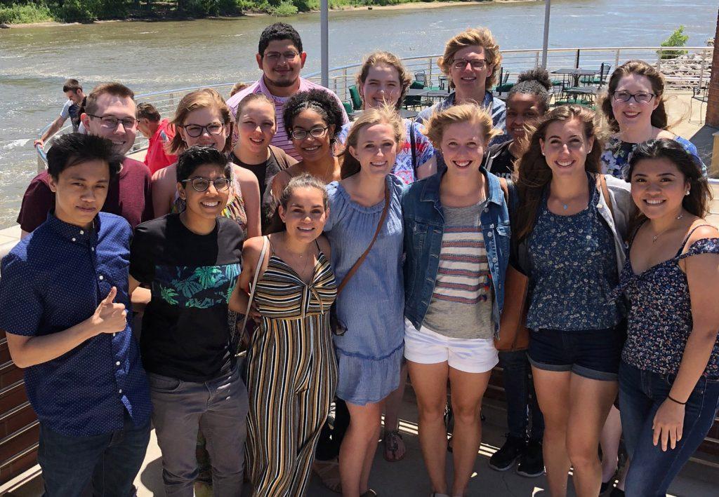 group photo of Iowa Summer Institute in Biostatistics participants