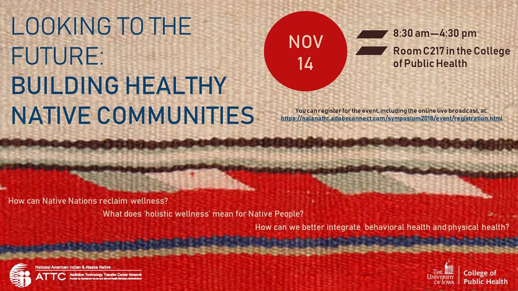 2018 Symposium: Looking to the Future: Building Healthy Native Communities