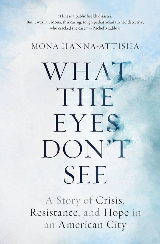 photo of book cover for What the Eyes Don't See