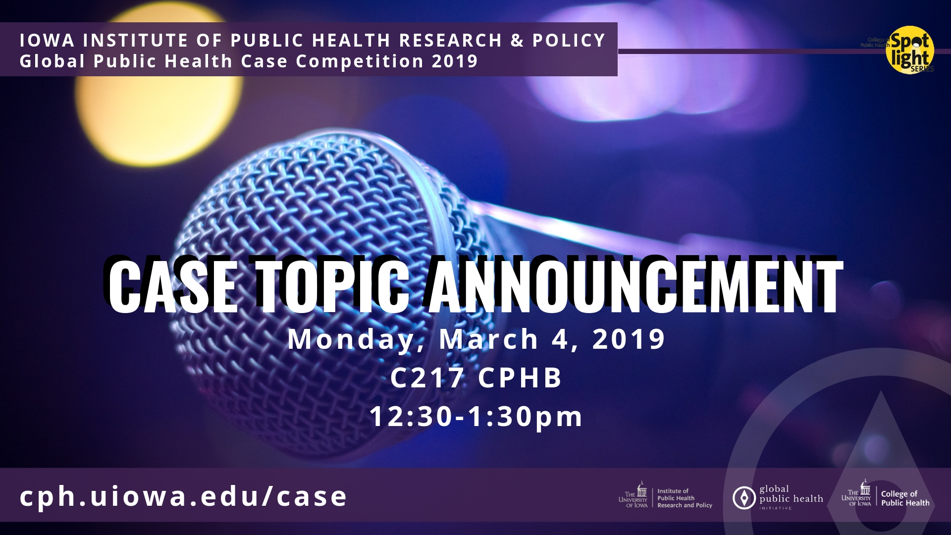 2019 Global Health Case Competition