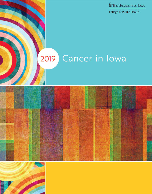 cancer in iowa 2019 cover illustration