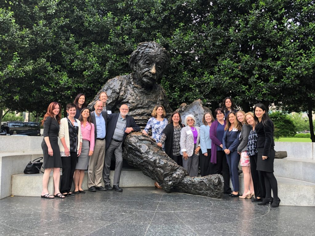 Corinne Peek-Asa with participants in the Global Violence Prevention Forum workshop held May 16-17 at the National Academy of Sciences in Washington, D.C.