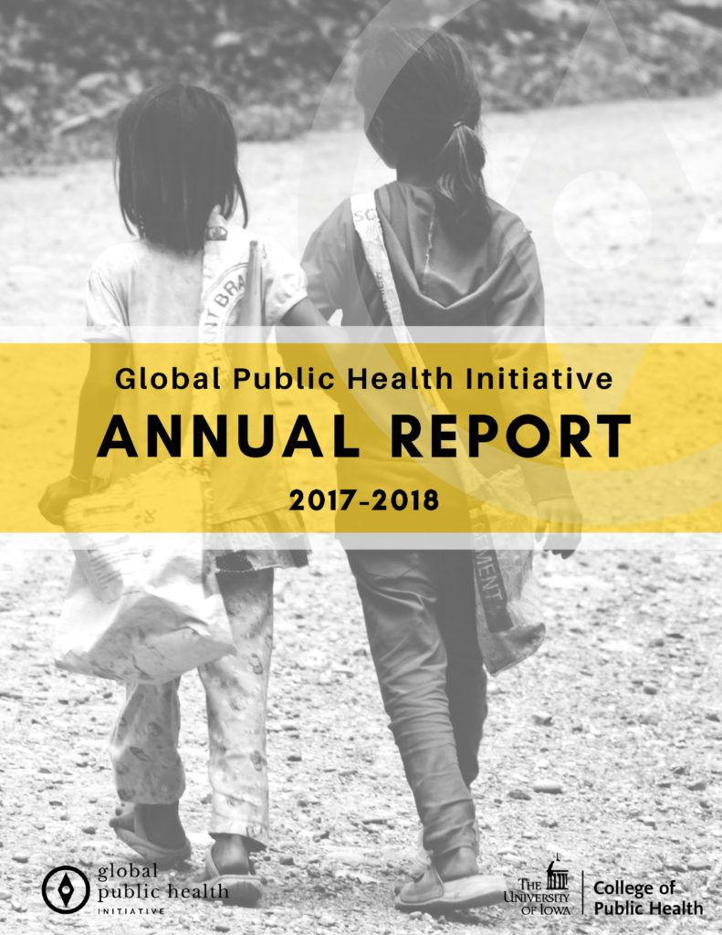 Cover of Global Public Health Annual Report, 2017-2018
