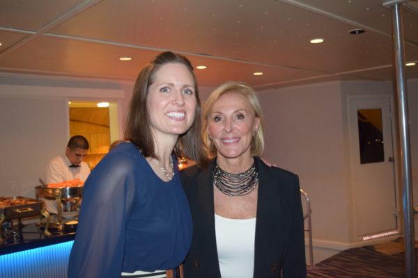 Janice Ellig with Ellig Scholar alumna