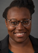 A portrait of Bikere Ikoba of the Department of Community and Behavioral Health at the University of Iowa College of Public Health.