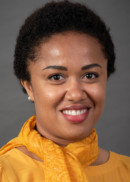 A portrait of Patience Ugwi of the Master of Public Health program at the University of Iowa College of Public Health.