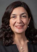 Portrait of Prof. Emine Bayman of the Department of Biostatistics at the University of Iowa College of Public Health
