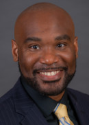 A portrait of Brandon Stevenson of the Department of Health Management and Policy at the University of Iowa College of Public Health.