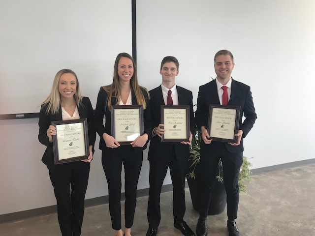 winning team of the Kansas City case competition 2019
