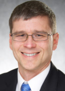 Portrait of Scot Reisinger, director of student services at the University of Iowa College of Public Health