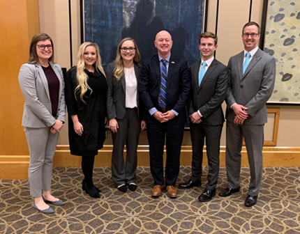 2020 UAB Case Competition team photo