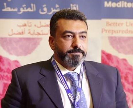 portrait of Ghazi Kayali